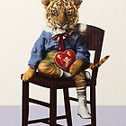 Tiny Tiger Valentine by PETER GROSS