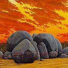 """History Wars II"" 83x76cm, oil on linen.  by Jason Moad"