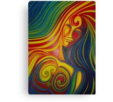 Life wave Canvas Print