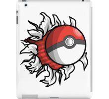 Poke-Blast iPad Case/Skin