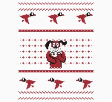 Festive Duck Hunt Sweater Kids Clothes