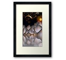 Alien Night Framed Print