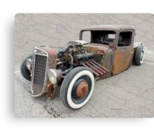 Old Awesome Rusty Car Canvas Print