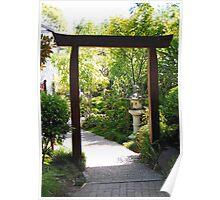 Garden Design Poster
