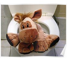Richard the Donkey - Toilet Poster