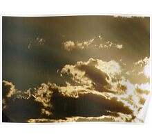 Angelic Clouds Poster
