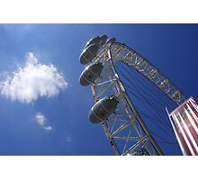 London Eye Pods Photographic Print