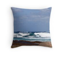 Seascape at Cape Leeuwin Throw Pillow