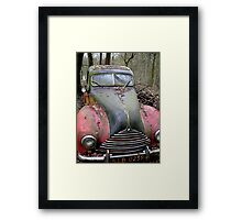 Red and Black BMW Framed Print