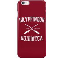 Hogwarts Quidditch Team: Gryffindor iPhone Case/Skin