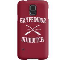 Hogwarts Quidditch Team: Gryffindor Samsung Galaxy Case/Skin