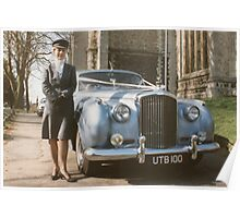 Lady chauffeur Poster