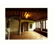 A Room at the Kloster St. Georgen Art Print