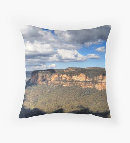 Grose Valley - Toward Blackheath, NSW Throw Pillow
