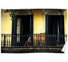Barcelona Balcony Poster