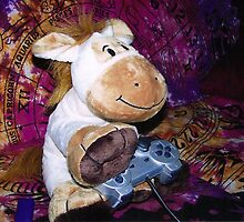 Richard the Donkey - Gamer by Kirsten H