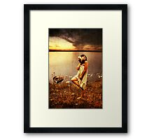 A Lonely Year Without You... Framed Print