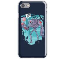 R3D BBL R0B0T iPhone Case/Skin