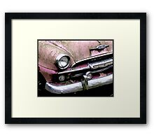 Pink Smile Framed Print