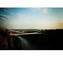Clifton Suspension Bridge Photographic Print