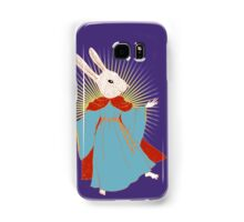 Saint Bunny has your back Samsung Galaxy Case/Skin