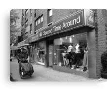 New York Street Photography Canvas Print