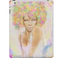 The girl with new hair style iPad Case/Skin