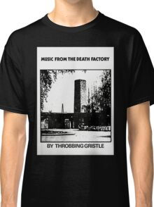 Throbbing Gristle Music From The Death Factory Classic T-Shirt