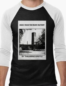 Throbbing Gristle Music From The Death Factory Men's Baseball ¾ T-Shirt