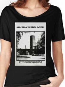 Throbbing Gristle Music From The Death Factory Women's Relaxed Fit T-Shirt