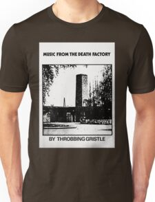 Throbbing Gristle Music From The Death Factory Unisex T-Shirt