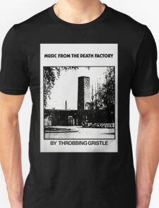 Throbbing Gristle Music From The Death Factory T-Shirt