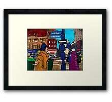 6th Americas Framed Print