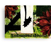 Endangered Species Canvas Print