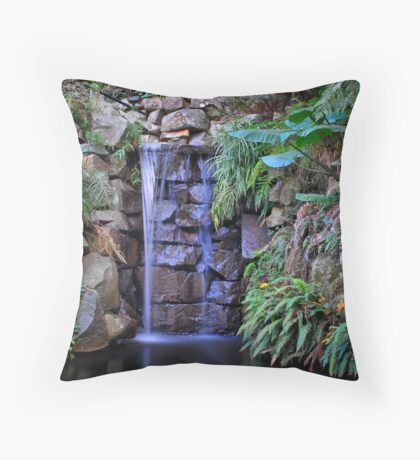 Alfred Nicholas Gardens Throw Pillow
