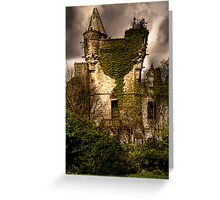Castle Turret Greeting Card