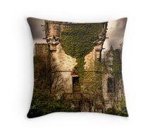 Castle Turret Throw Pillow