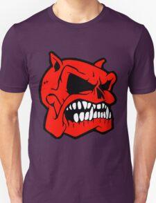 SKULL HEAD-BULL DOG T-Shirt