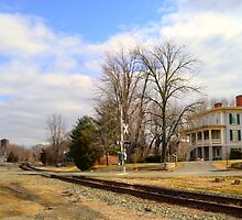 The Exchange Hotel and Railroad by lookherelucy