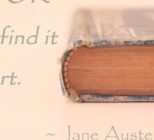 Jane Austen Sticker