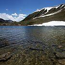 Small Lake on Loveland Pass, Colorado by Brian Hendricks