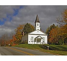 Omena Village Presbyterian Church Photographic Print