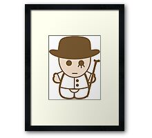 Hello Alex (A Clockwork Orange) Framed Print