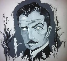 Vincent Price by scaroby