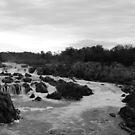 Great Falls B&W by elasita