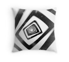 Into the TV (Persona 4) Throw Pillow