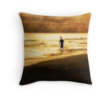 The Passersby Throw Pillow