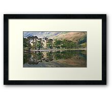 Buttermere Pines Framed Print