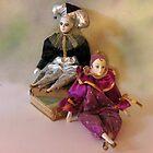 Harlequin Dolls by suzannem73