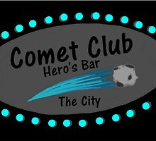 Comet Club: Hero's Bar (Large) by GeekDesigns